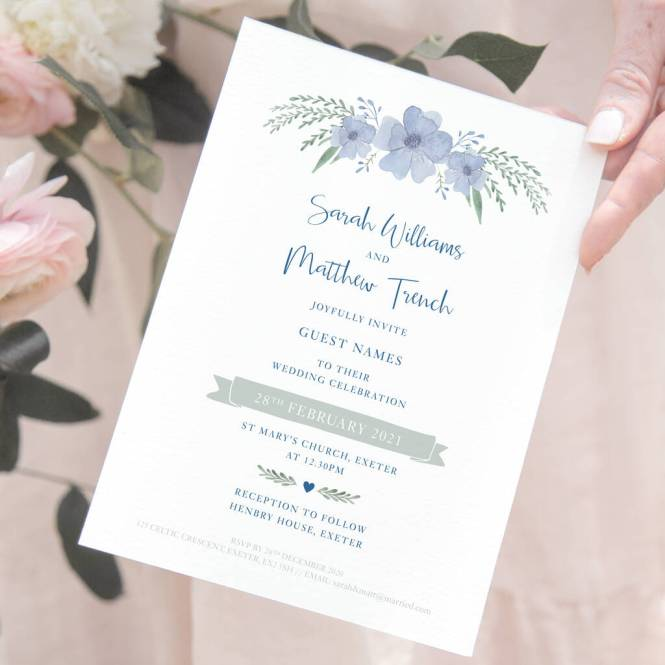 Guest Names On Wedding Invitations