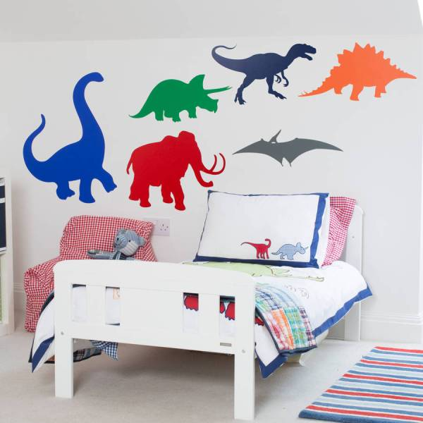 dinosaurs kids wall stickers by mirrorin ...