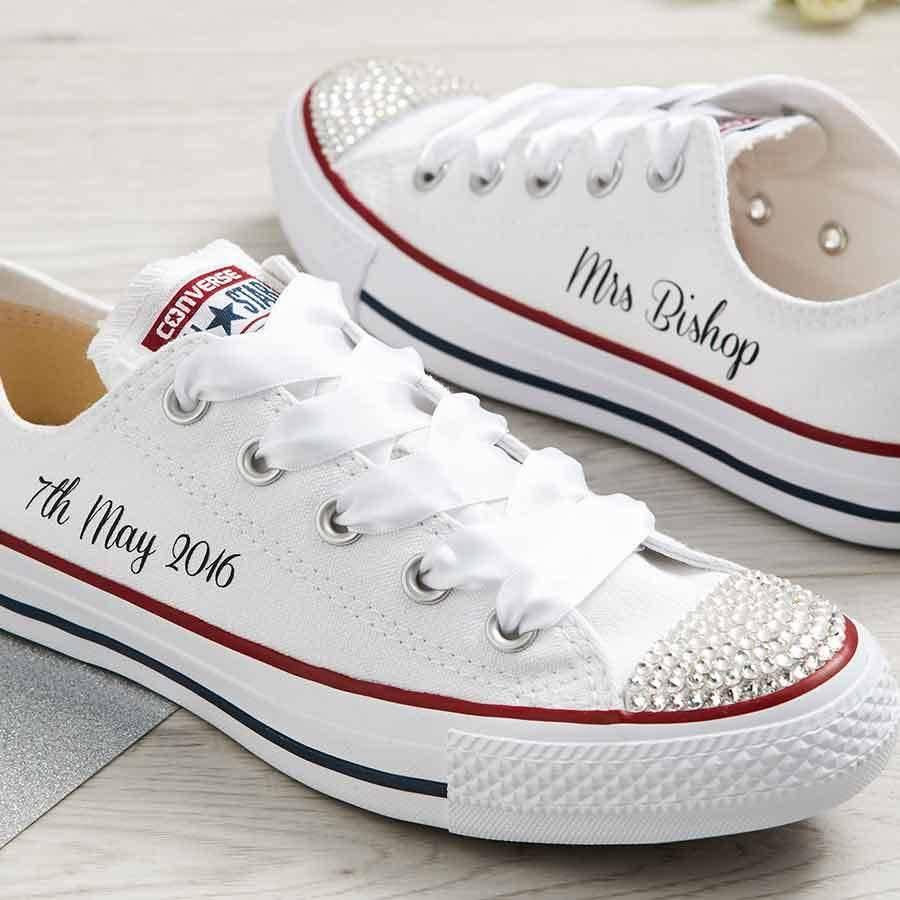 Flat Wedding Shoes Bride