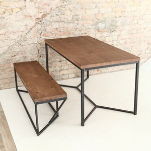 solid industrial dining table dining tables