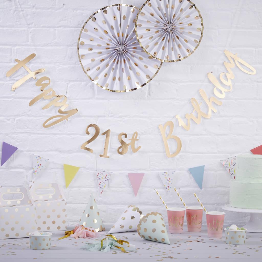 Happy 13th Birthday Decorations