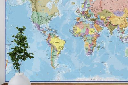 World Map Wallpaper Blue Full HD MAPS Locations Another World - World map wallpaper for walls india