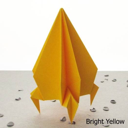 Origami Rocket Eship Toy Decoration By The Boutique