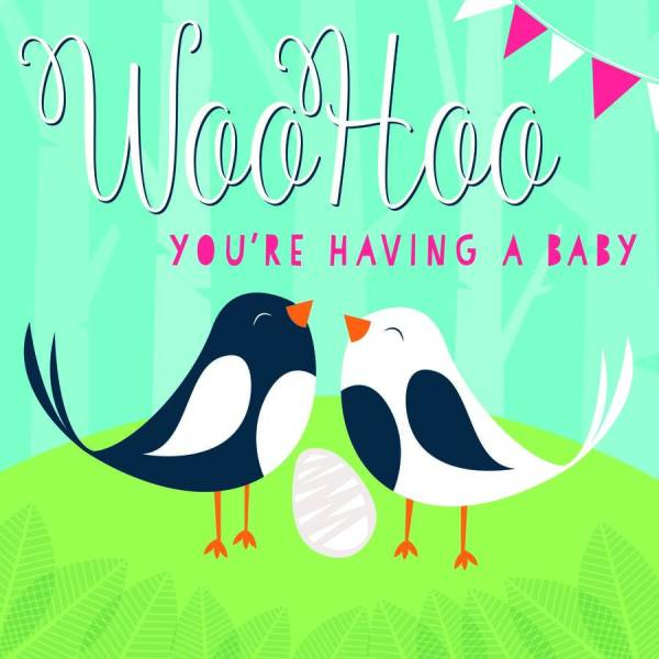 youre having a baby card by allihopa notonthehighstreetcom