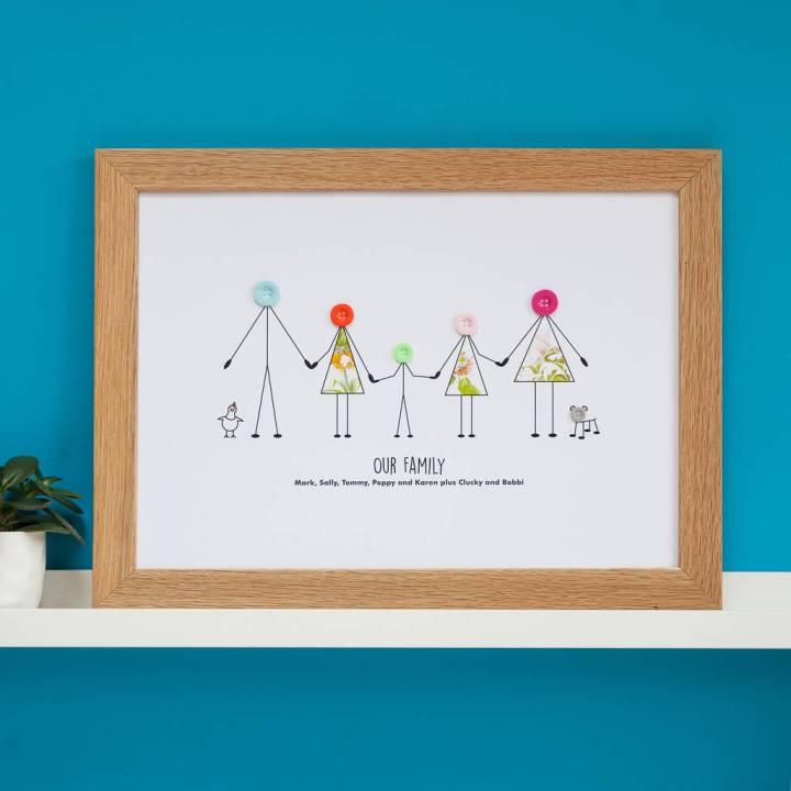 Personalised Family Photo Frames Uk | damnxgood.com