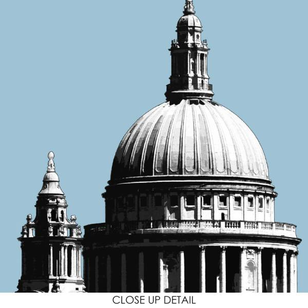 london travel print city prints st paul's cathedral by ...