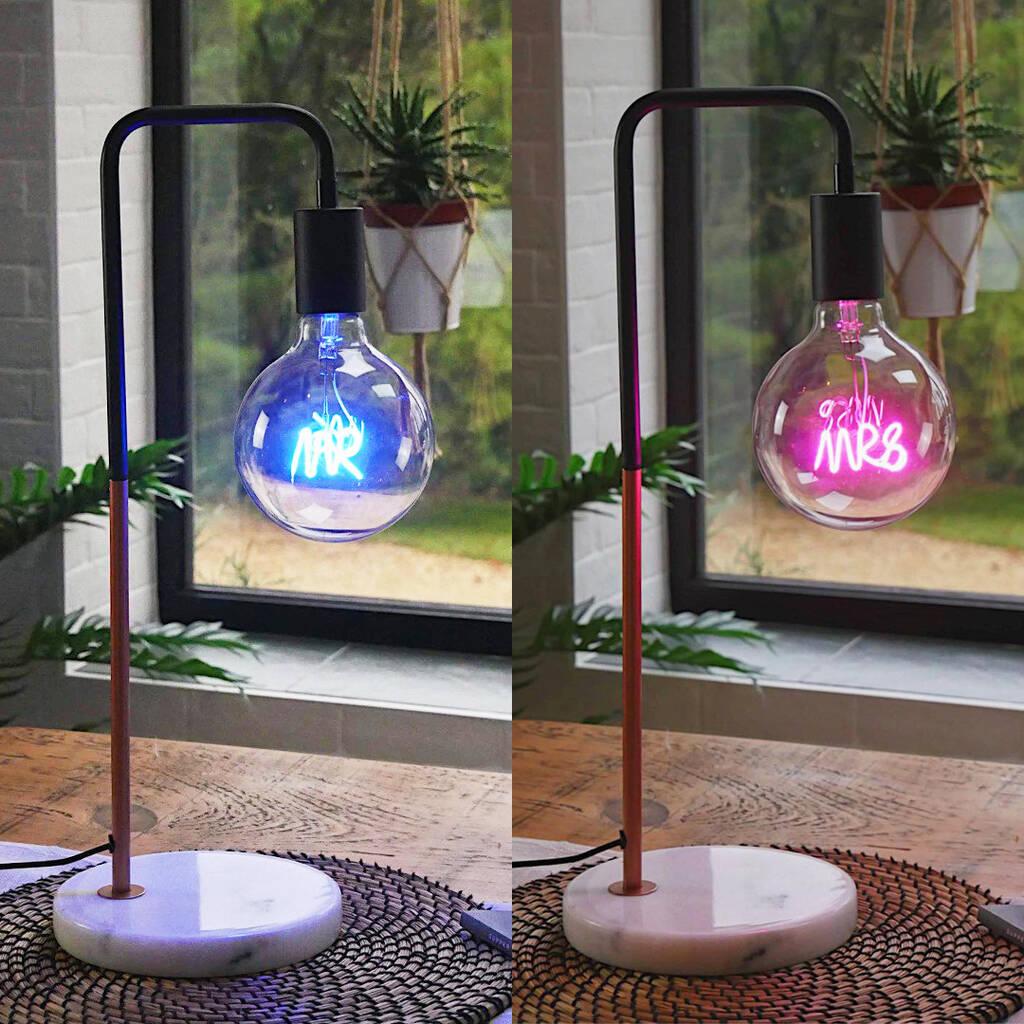 bright ideas collection led text bulbs