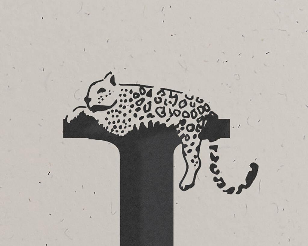 J Is For Jaguar Alphabet Card By Wolf Amp Ink