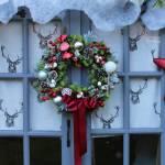 Everlasting Christmas Candy Cane Wreath By Objet Dahlia Notonthehighstreet Com