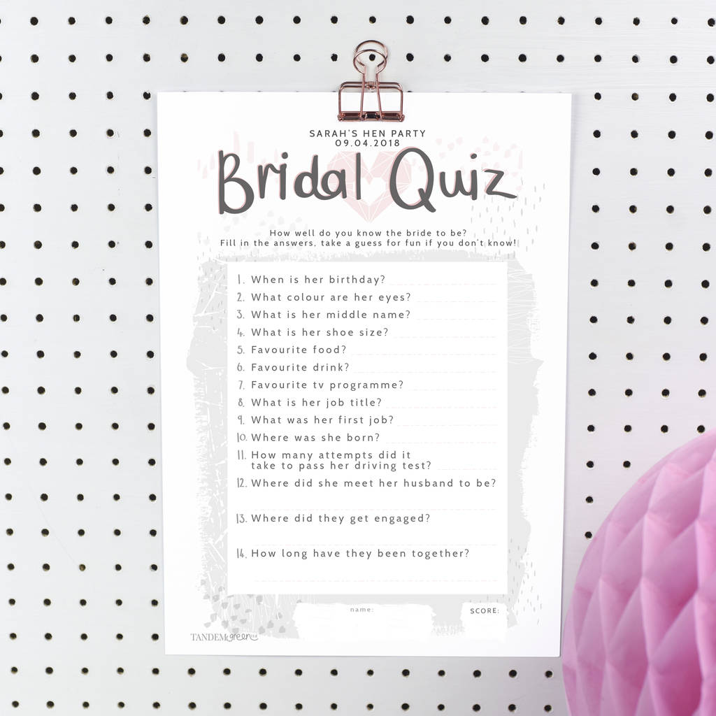 Name That Flower Quiz Printable