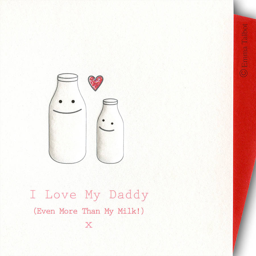 New Daddy And New Mummy I Love You Card By The Little