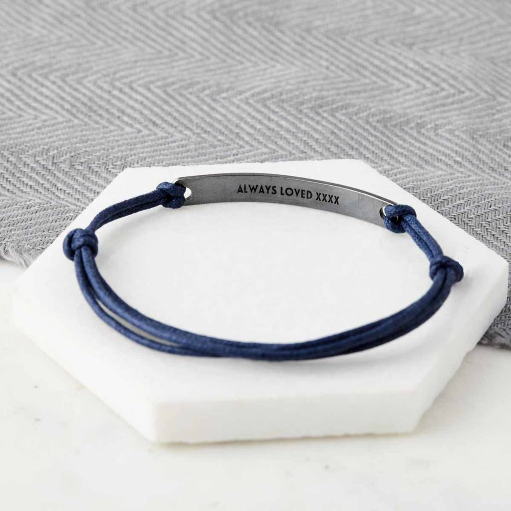 Personalised Date Hidden Message Bracelet By Sally Clay
