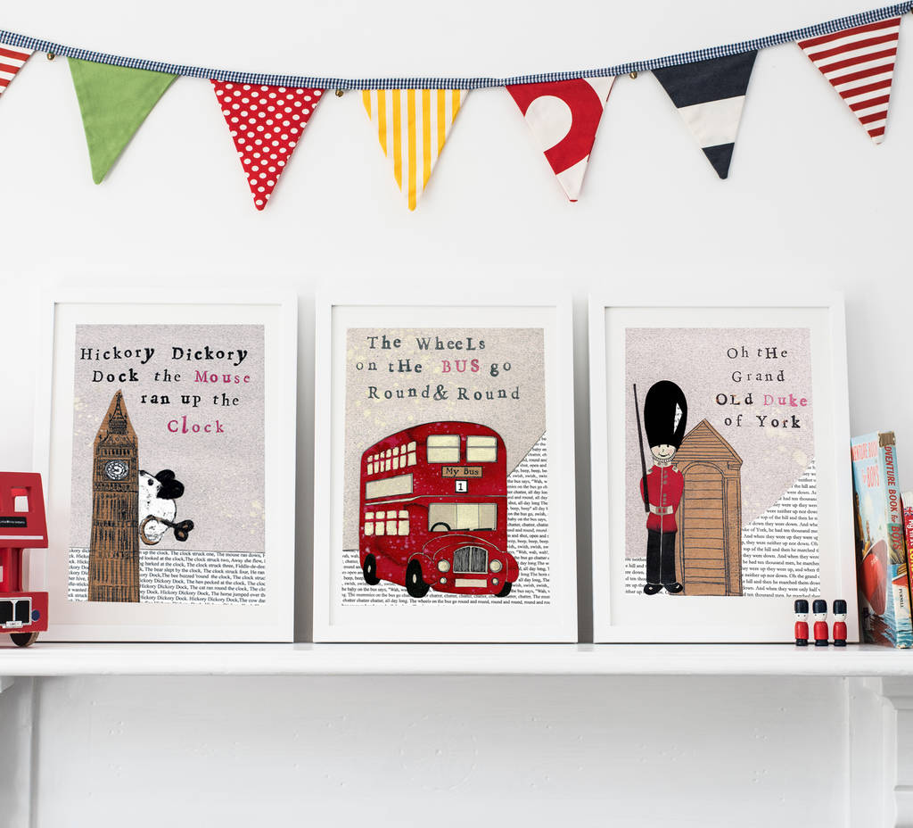 Awesome London Themed Christmas Cards Image Collection
