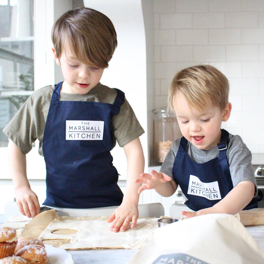 The Surname Kitchen Children S Baking Apron By Precious