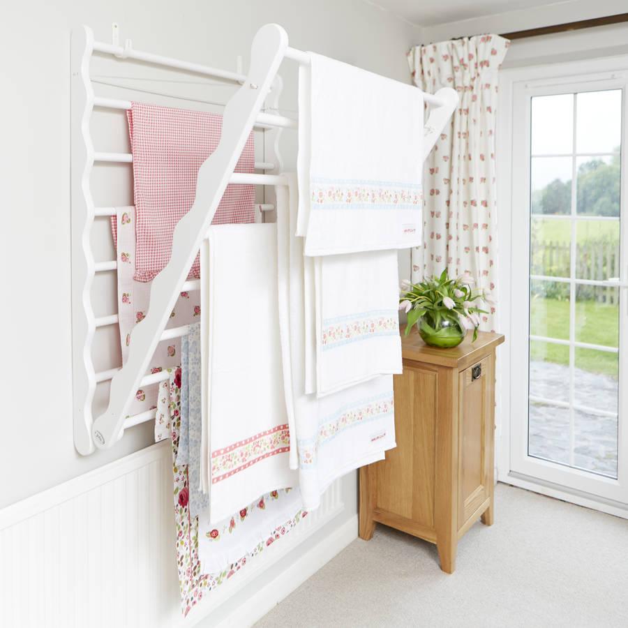 https www notonthehighstreet com julu product laundry ladder in pine