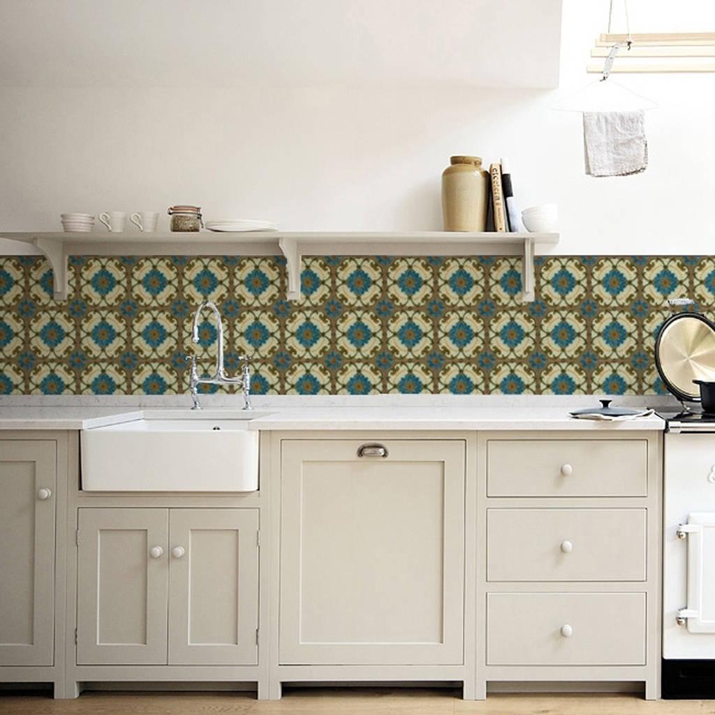 majolica kitchen walls backsplash wallpaper