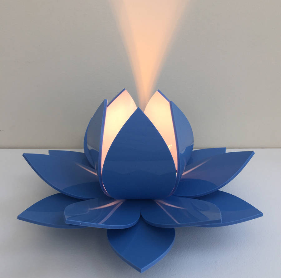 Lotus Flower Table Lamp By Kirsty Shaw