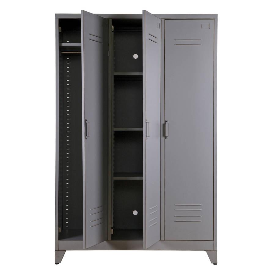 Metal Locker Cabinet By Idyll Home