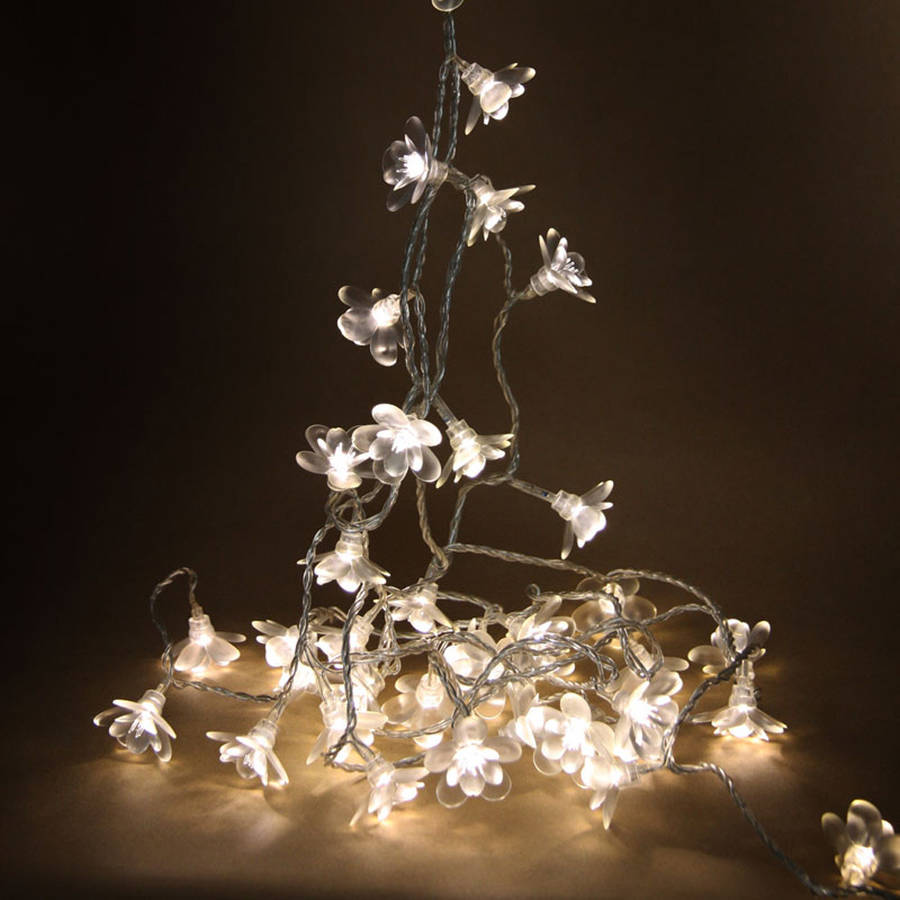Moon Flower Fairy Lights By Idyll Home