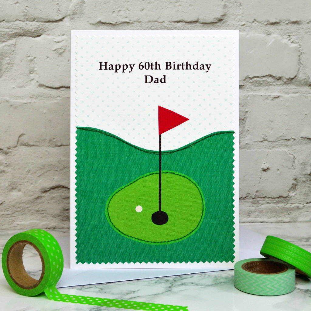 Happy Birthday Golf Cards Grandpa