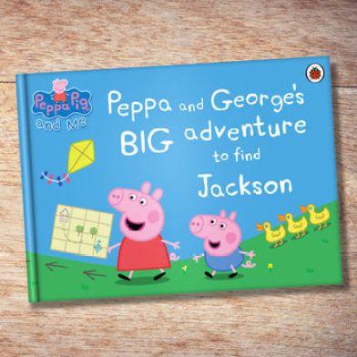 Personalised Peppa Pig 'Big Adventure' Book