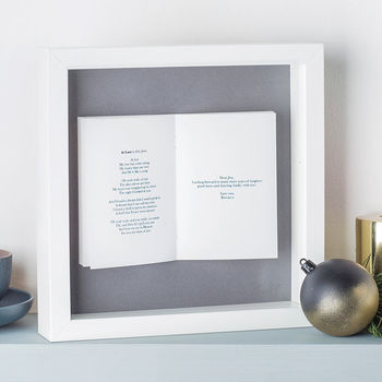 Framed Favourite Song Picture Unique And Quirky Gift Ideas Any Odd Person Will Appreciate (Fun Gifts!)