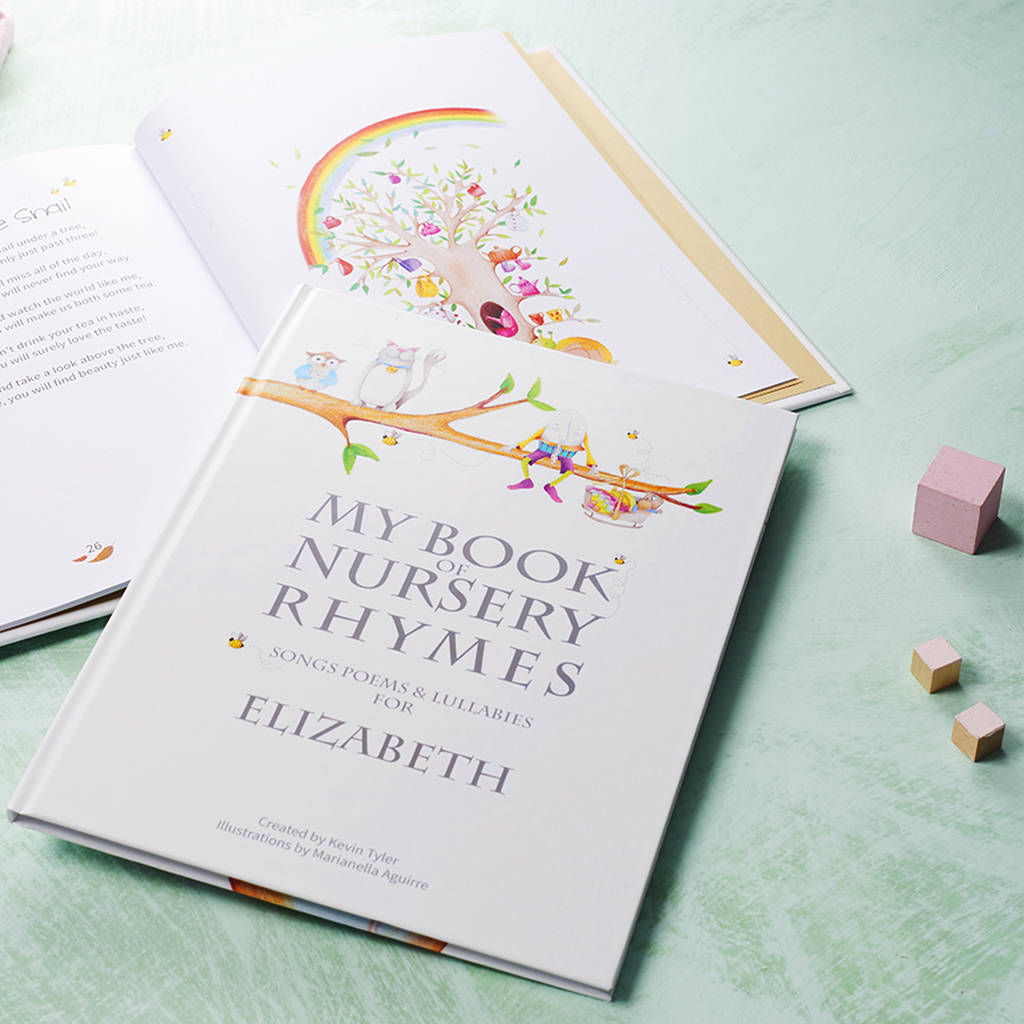 Nursery Rhymes And Personalised Poems Book By My Given