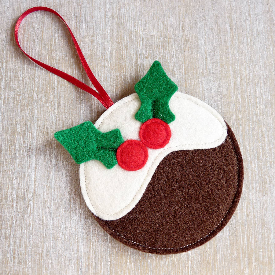 Christmas Decorations With Felt