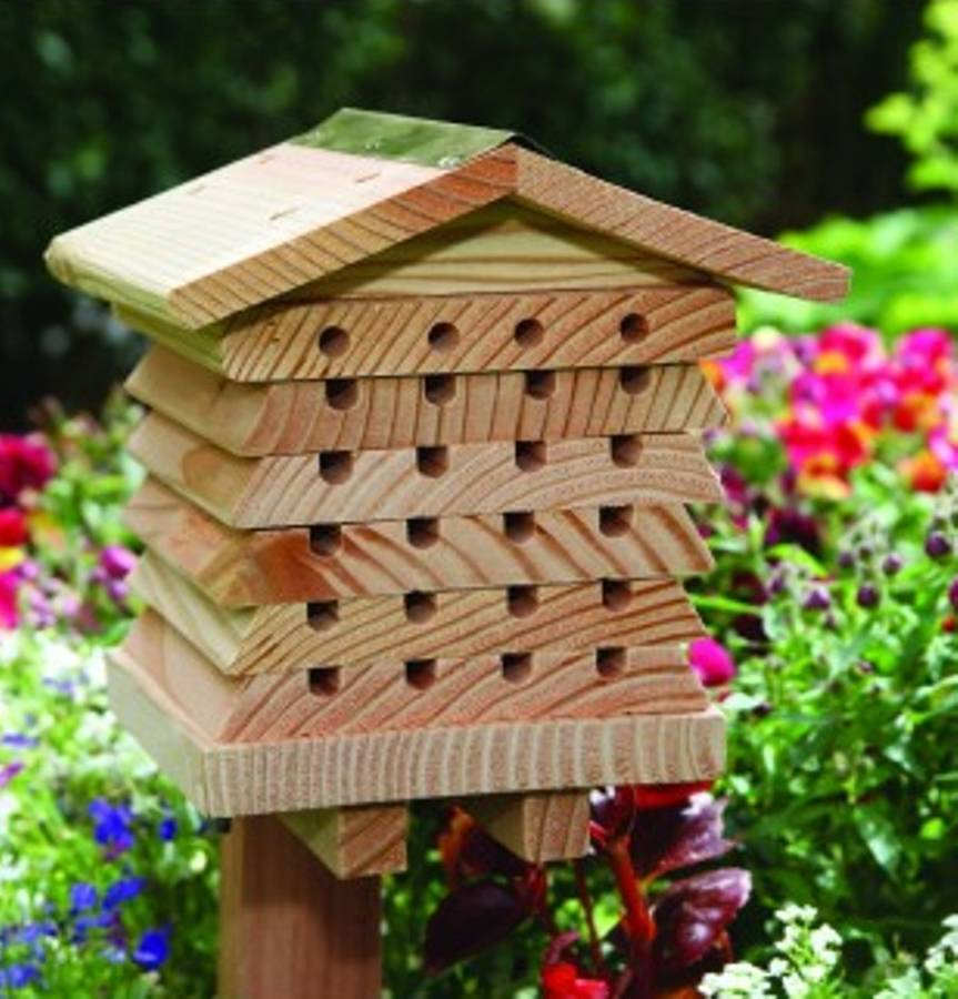 Solitary Bee House By Garden Selections