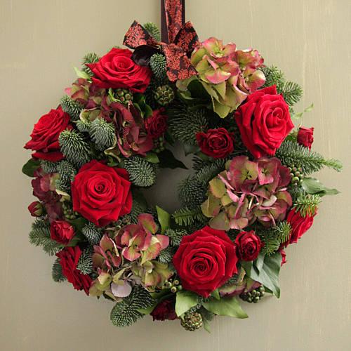 We Love Hydrangeas Wreath By The Flower Room