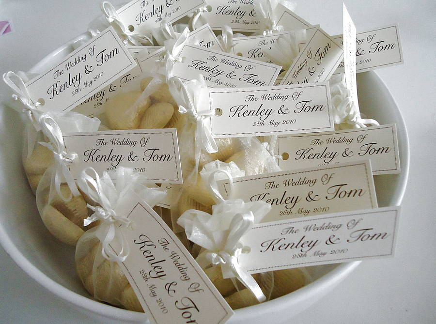 20 Wedding Favour Organza Bags By Tailored Chocolates And