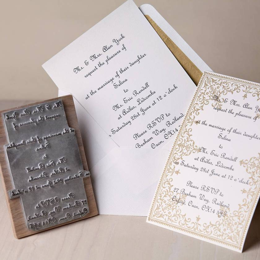 Wedding Invitation St