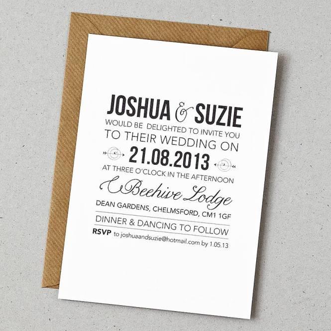 Wedding Invitation Uk