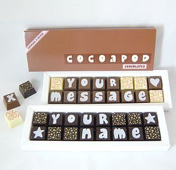 Personalised Chocolates In Small Box 100 Cheap Thoughtful Gift Ideas For Her Under £20