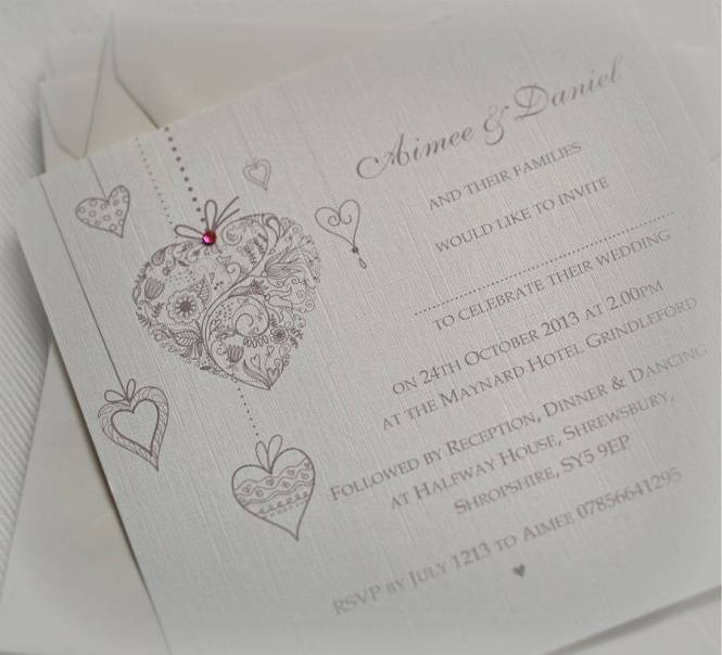 Post Navigation Previoususing Hearts In Your Wedding Invitations