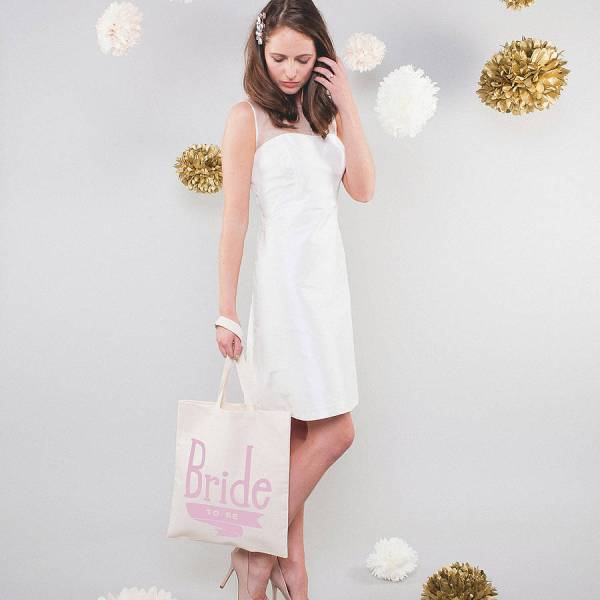 'bride to be' tote bag by alphabet bags ...