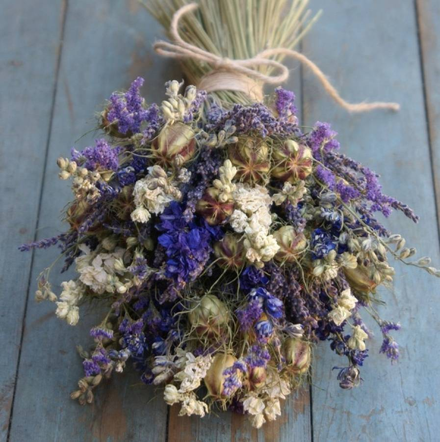 Wedding Flowers Bouquet Dried Flower Wedding