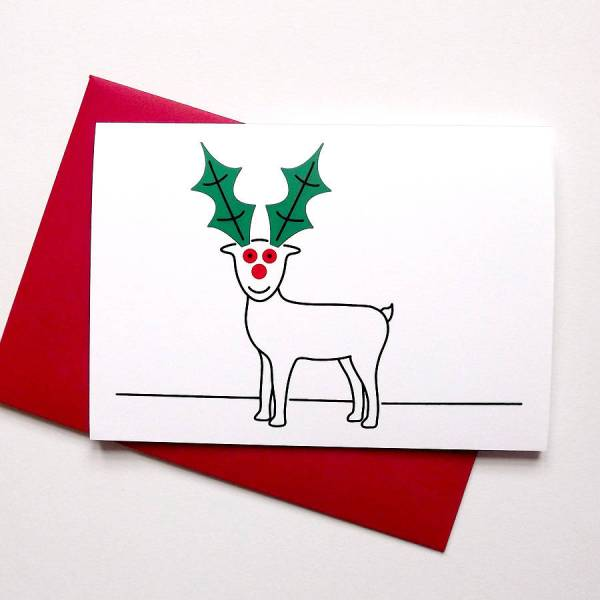 christmas cards pack by hello dodo | notonthehighstreet.com