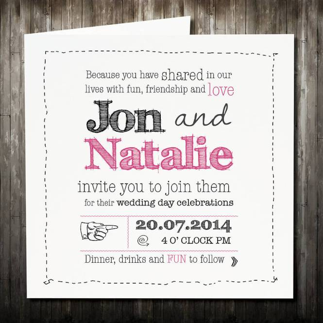 Make It A Weekend Wedding Inviation Insert Card With Rsvp Event Choices