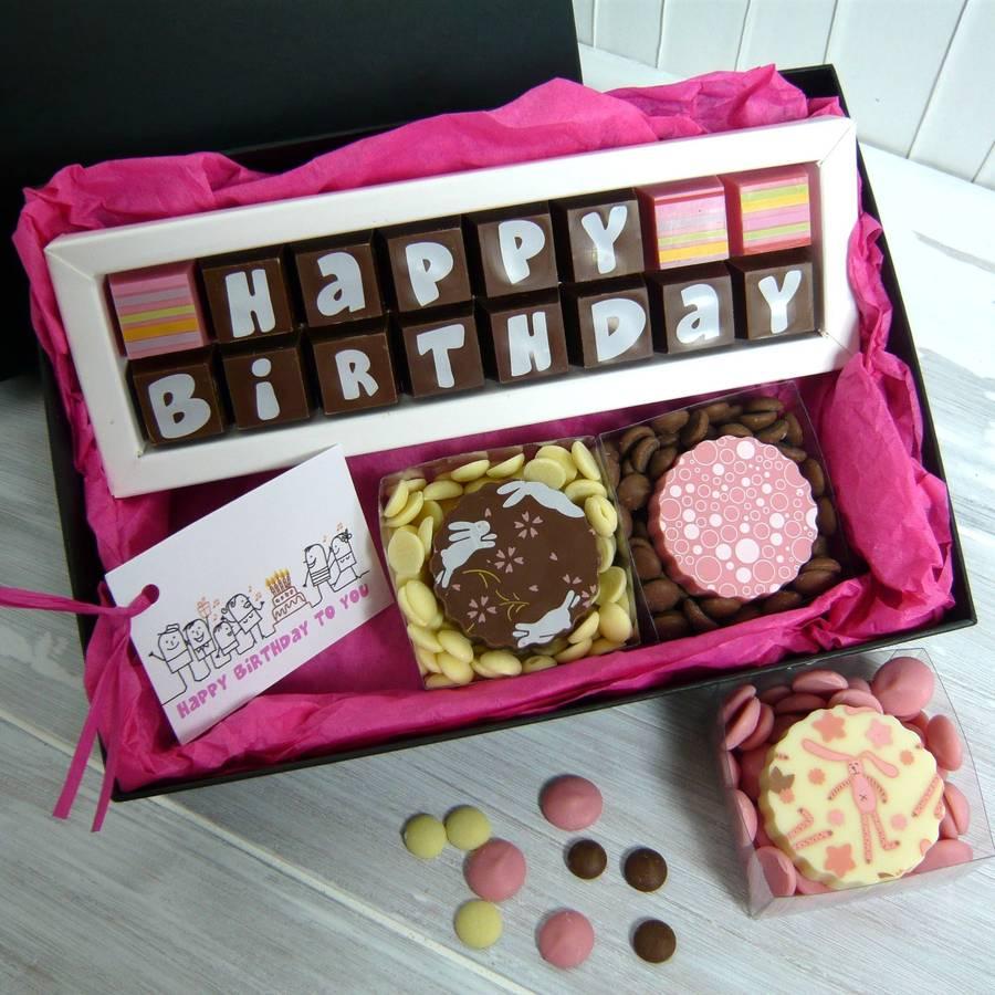 Chocolate Gifts Her Birthday