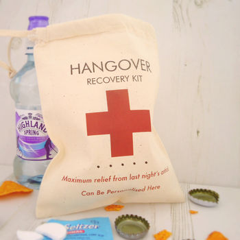 Hangover Recovery Kit Bag 100 Cheap Gift Ideas For Her Under £20 - The 2015 Gift Guide