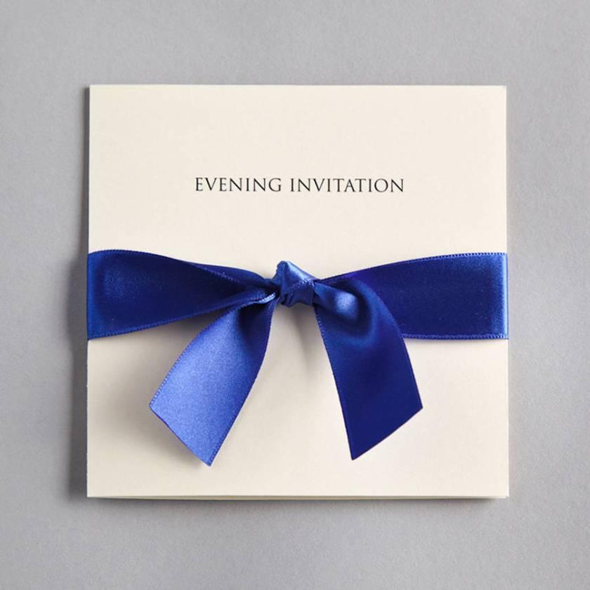 Bow Evening Invitation
