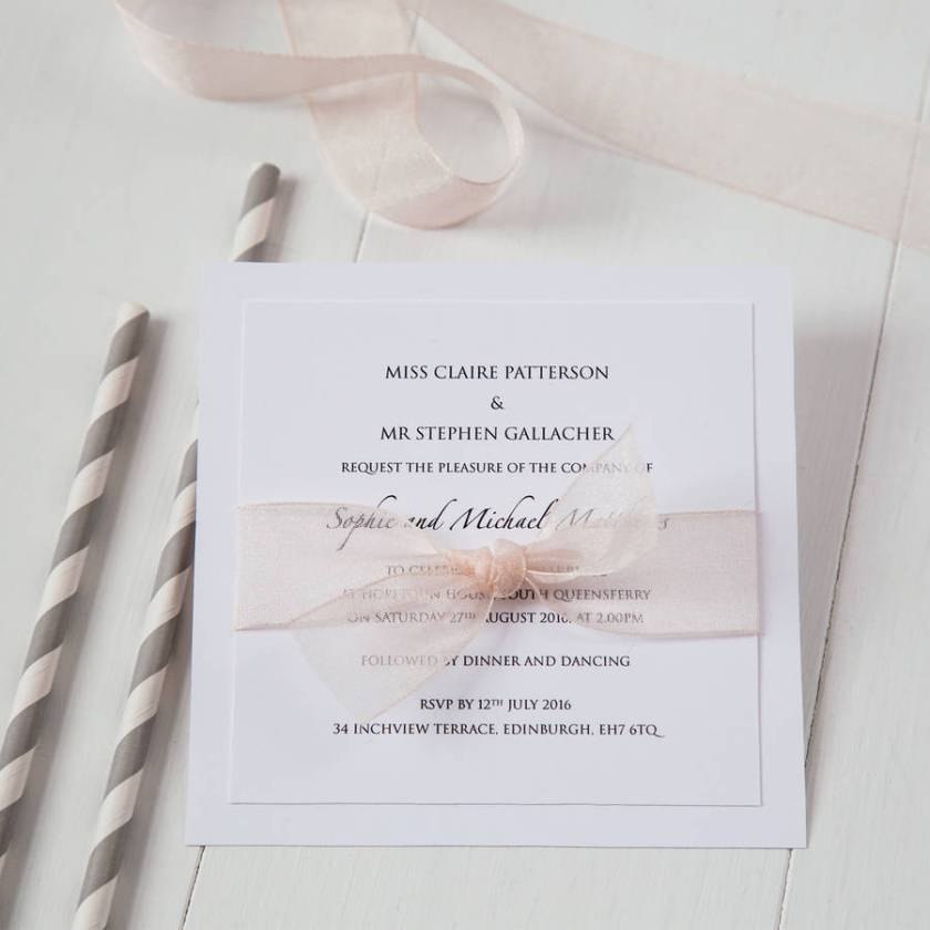 Declining A Wedding Invitation Debrettswedding Ideas