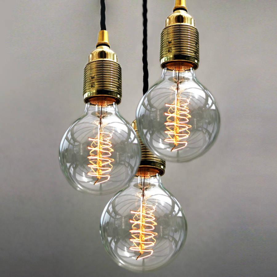 Large Light Bulb Ceiling Light