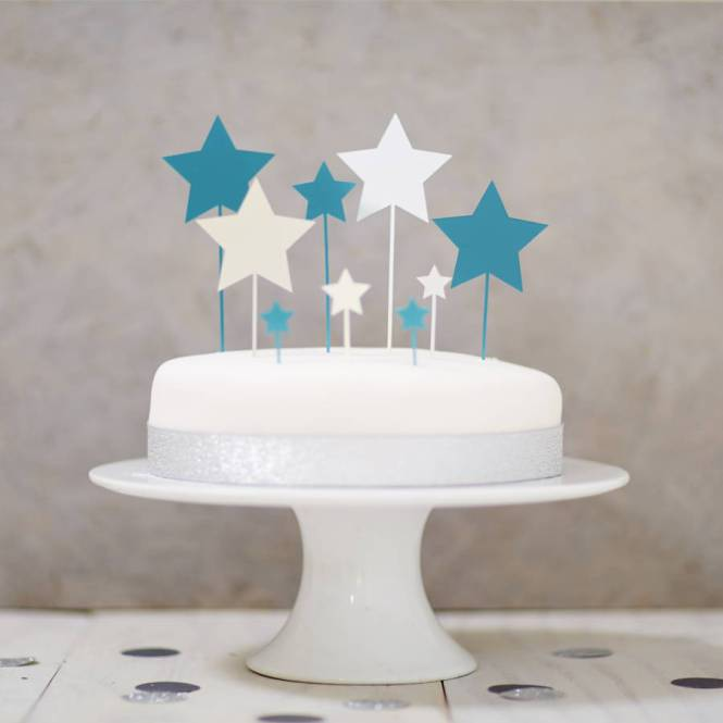 Wedding Star Cake Topper Dancing Bride Groom A