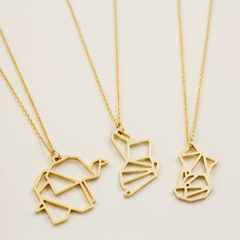 Gold Animal Pendant Necklace Unique And Quirky Gift Ideas Any Odd Person Will Appreciate (Fun Gifts!)