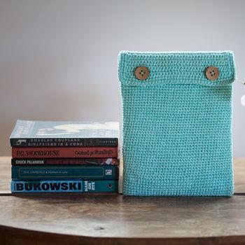 Turquoise iPad Case