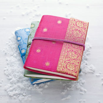 Fair Trade Sari Notebook 100 Cheap Gift Ideas For Her Under £20 - The 2015 Gift Guide