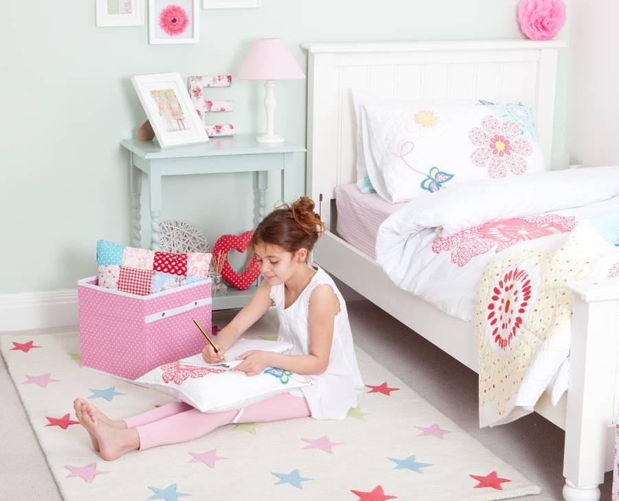 girls star rug by babyface | notonthehighstreet
