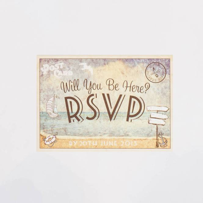 Invitations From Real Weddings